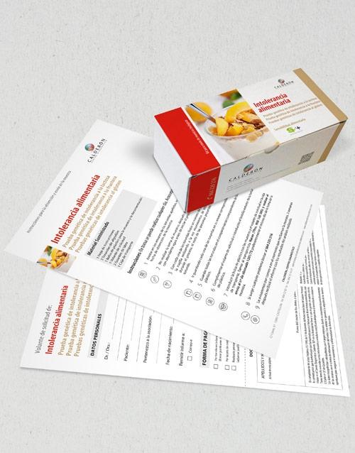 Test genéticos intolerancia alimentos centro diagnóstico calderón