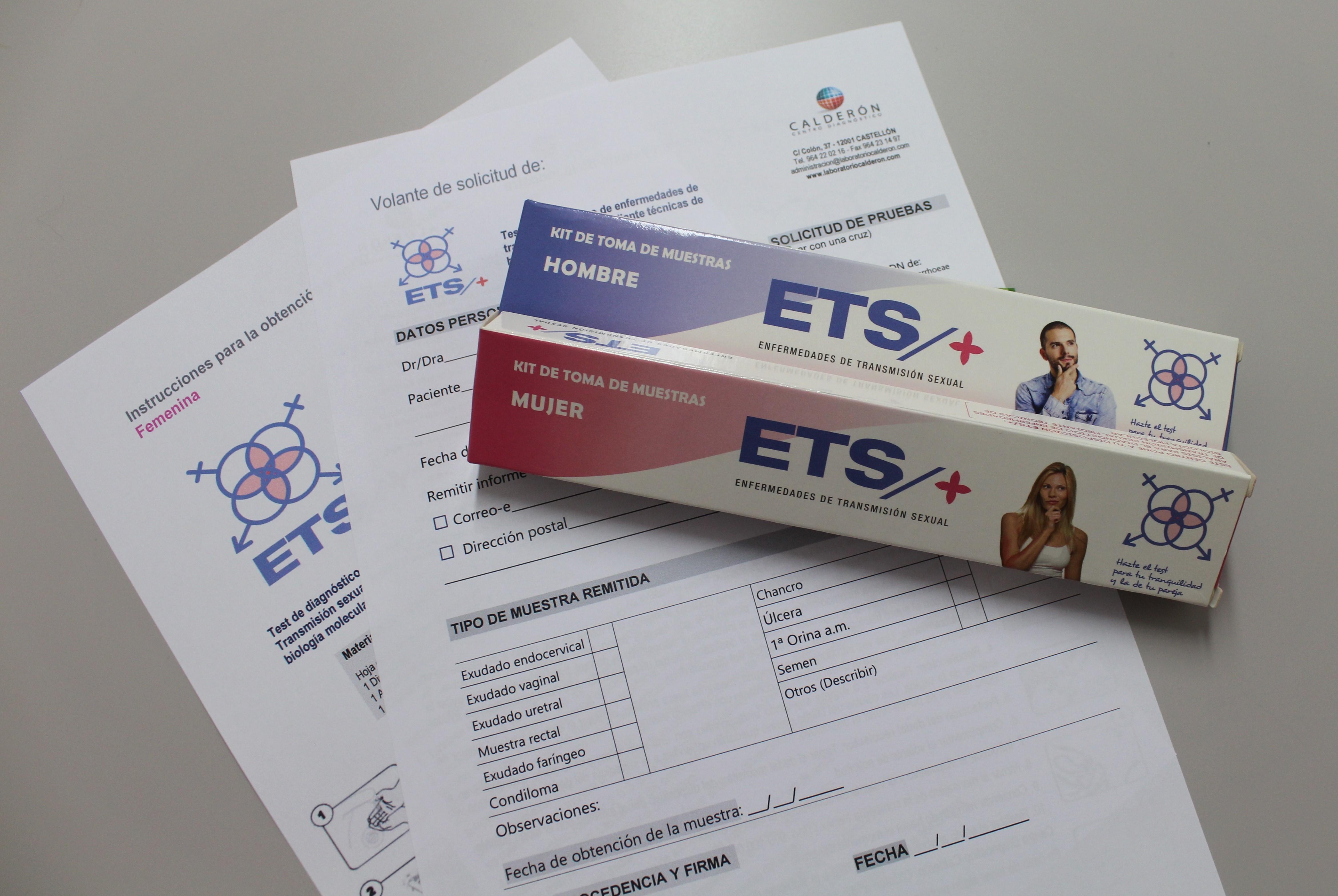 Test Efermedades de transmisión Sexual centro diagnóstico Calderón